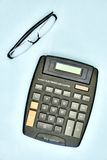 Electronic Business Calculator Royalty Free Stock Photography