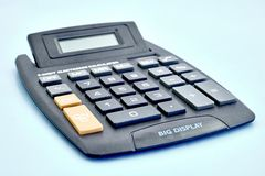 Electronic Business Calculator Royalty Free Stock Photos
