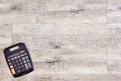 Electronic Business Calculator Royalty Free Stock Photo