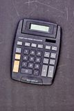 Electronic Business Calculator Stock Image
