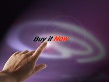 Electronic buying Royalty Free Stock Photo