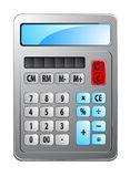 Electronic calculator. As a financial symbol or icon Stock Photography