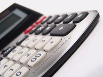 Electronic Calculator Royalty Free Stock Photography