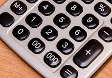 Electronic calculator buttons Royalty Free Stock Photo