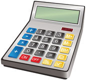 Electronic calculator Stock Photography