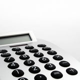 Electronic Calculator closeup Stock Image