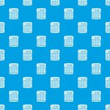 An electronic calculator pattern seamless blue Stock Photo