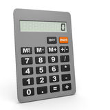 Electronic calculator. Royalty Free Stock Photo