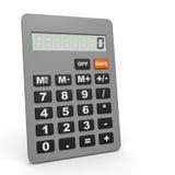 Electronic calculator. Royalty Free Stock Photo