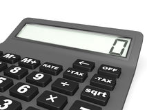 Electronic calculator. Stock Images