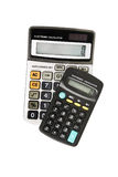 Electronic calculators Royalty Free Stock Image