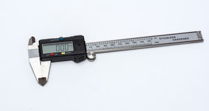 Electronic caliper Royalty Free Stock Image