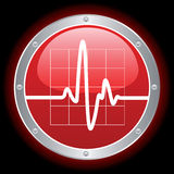 Electronic Cardiogram Stock Photo
