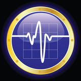 Electronic Cardiogram Royalty Free Stock Images
