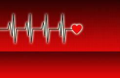 Electronic cardiogram Stock Photography