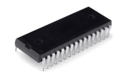 Electronic chip Royalty Free Stock Photos