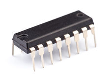 Electronic chip Stock Image