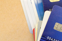 electronic chip card Stock Photo