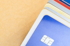 electronic chip card Stock Images
