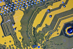 Electronic chip Stock Images