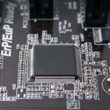 Electronic chip Royalty Free Stock Images