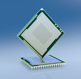 Electronic chip Royalty Free Stock Image