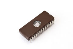 Electronic chip Royalty Free Stock Photo