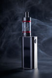 Electronic cigarette close-up Stock Images