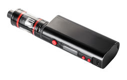 Electronic cigarette close-up Stock Photos