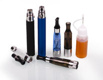 Electronic Cigarette E-cigarette Royalty Free Stock Images
