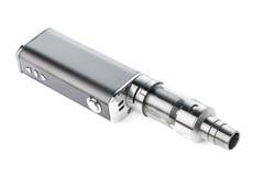 Electronic cigarette isolated on white Stock Photo