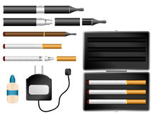 Electronic Cigarette Kit Stock Photos