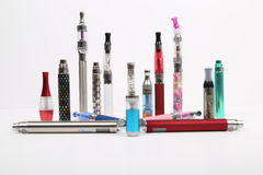 Electronic cigarettes Royalty Free Stock Photos