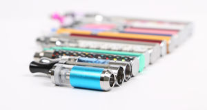 Electronic cigarettes Stock Photography