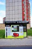 Electronic cigarettes shop Stock Image