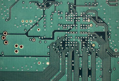 Electronic circuit Royalty Free Stock Photos