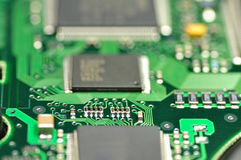 Electronic circuit Royalty Free Stock Photos