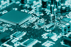Electronic circuit Stock Photos