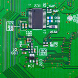 Electronic circuit board Royalty Free Stock Photos