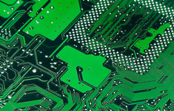 Electronic circuit board Royalty Free Stock Photography