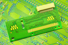 Electronic circuit board Royalty Free Stock Images
