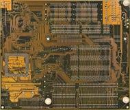 Electronic circuit board. Digital computer electronic circuit board stock photos