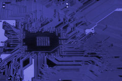 Electronic circuit board Stock Photo