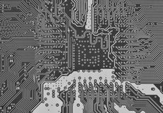 Electronic circuit board Royalty Free Stock Image