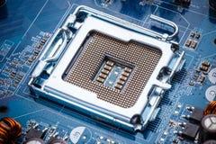 Electronic circuit board Royalty Free Stock Photos