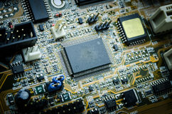 Electronic circuit board Stock Photos
