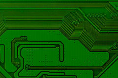 Electronic circuit board close up. Background can use the Internet, print advertising and design Royalty Free Stock Photography
