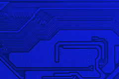 Electronic circuit board close up. Background can use the Internet, print advertising and design Royalty Free Stock Photos