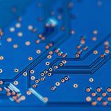 Electronic circuit board Royalty Free Stock Image
