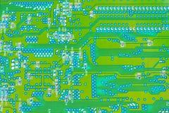 Electronic circuit board royalty free stock photo